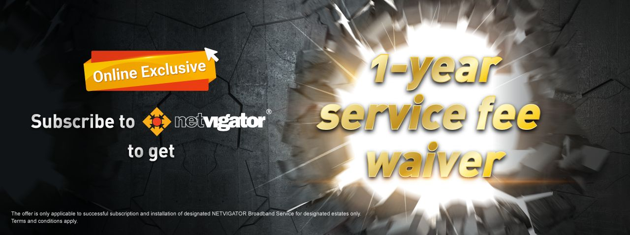 12-month service fee waiver offer